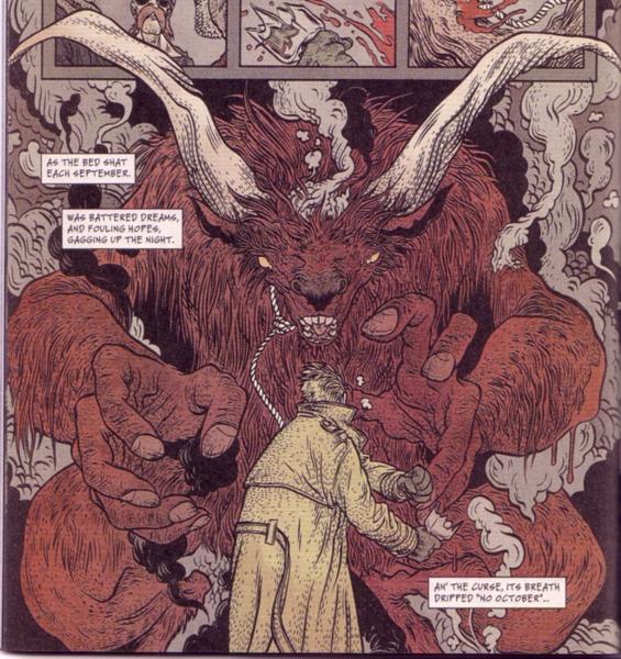 John Constantine's Christmas Goat