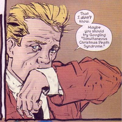 John Constantine... looking dangerous