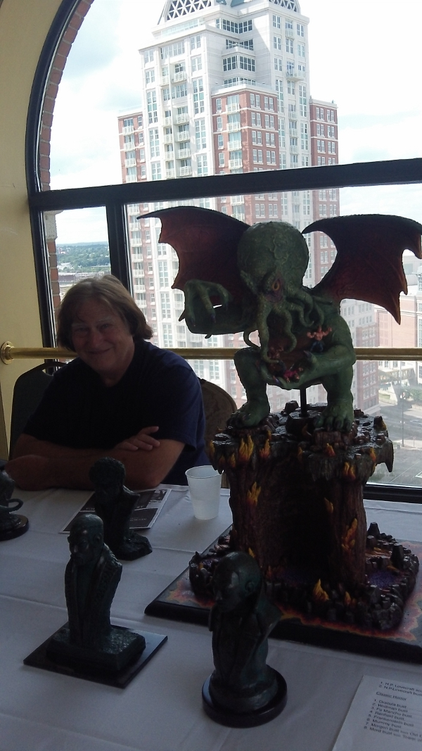 Larry Elig and his awesome Cthulhu.