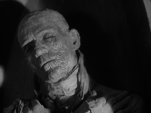 Boris Karloff's Mummy, from Universal's brilliant 1932 film