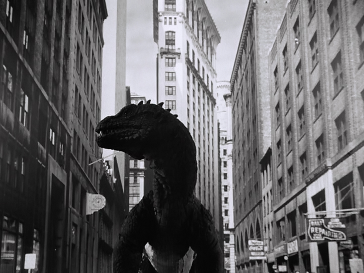 The Beast in New York.  Probably looking for Subway change.