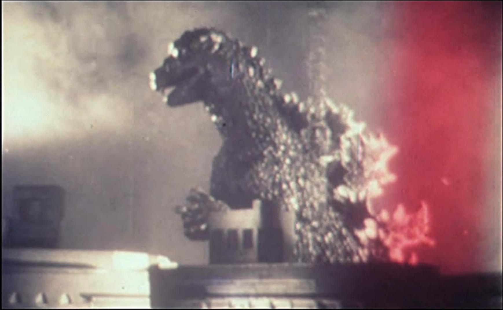 Luigi Cozzi's Godzilla in all its weird sherbet glory