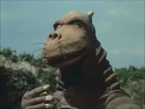 Daigoro. Goofy. About as endearing as Minilla.