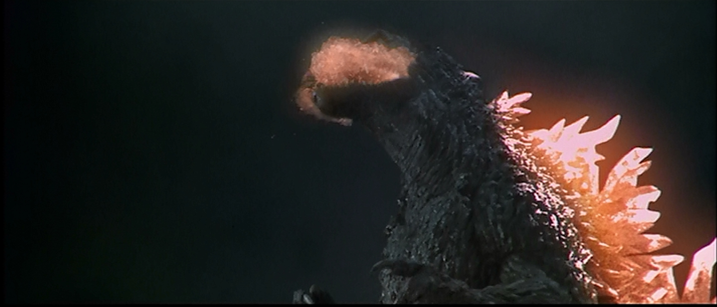 Godzilla 2000 unleashes havoc
