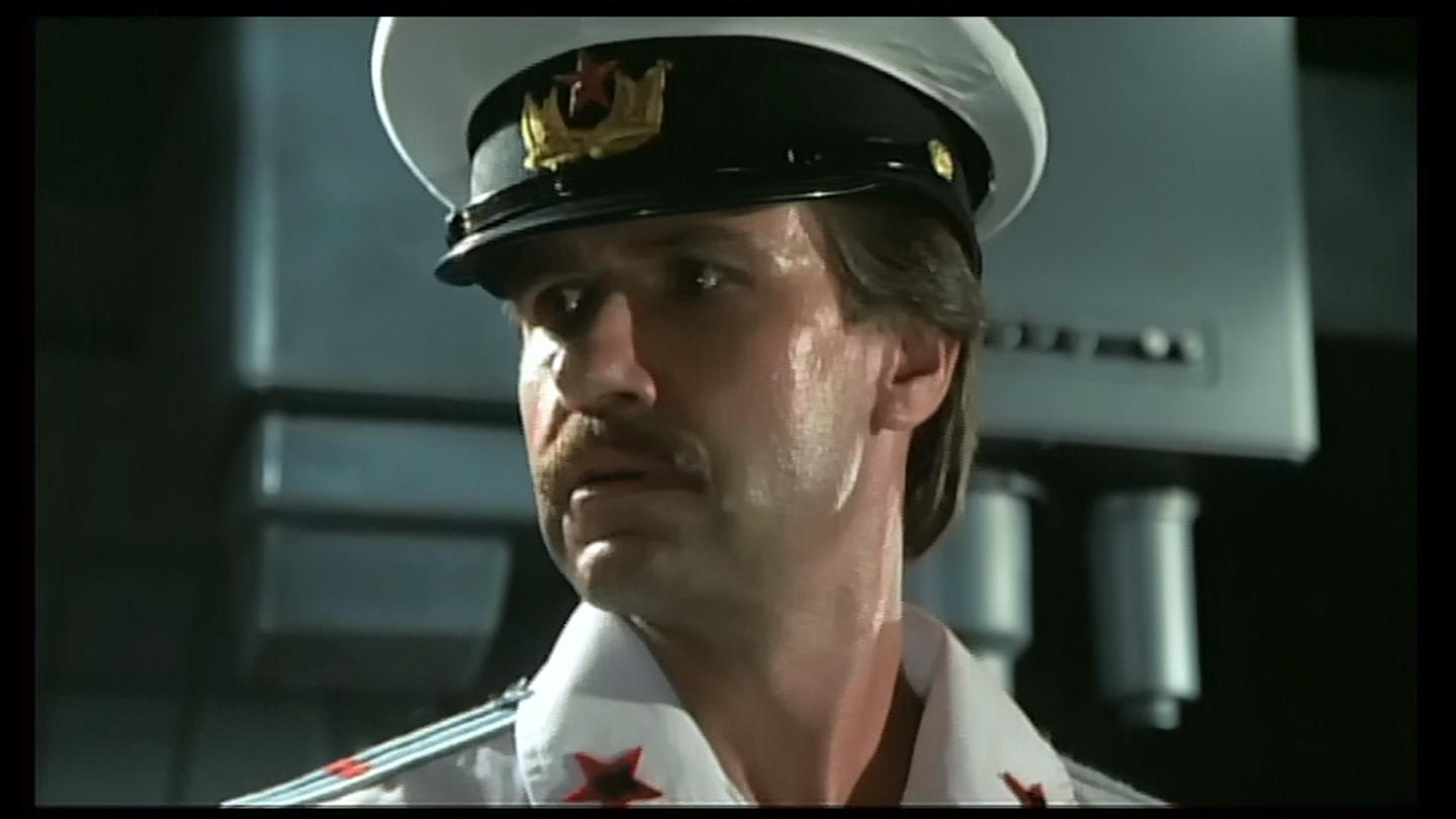 That's a Soviet sub captian looking worried.