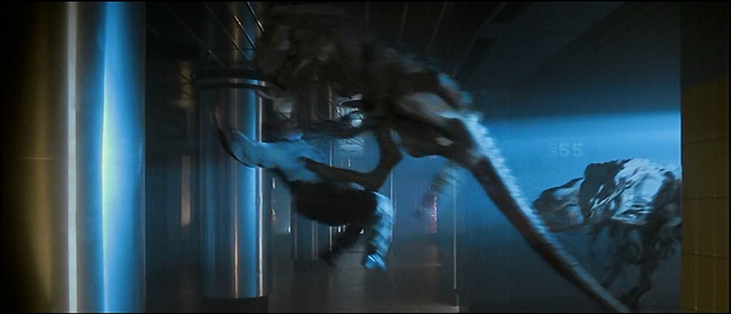 If it leaps like a raptor, it must be Godzilla Spawn.