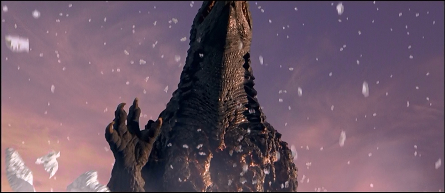 Godzilla's got quite the owie!