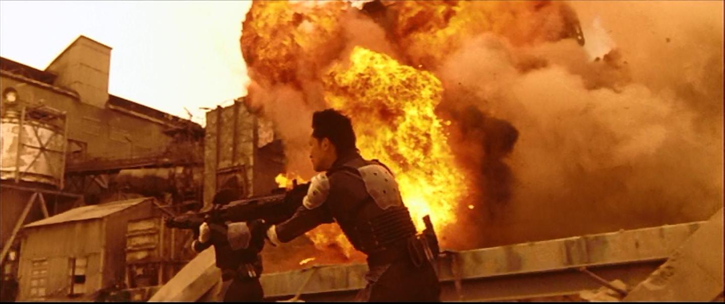 Explosions! Running!