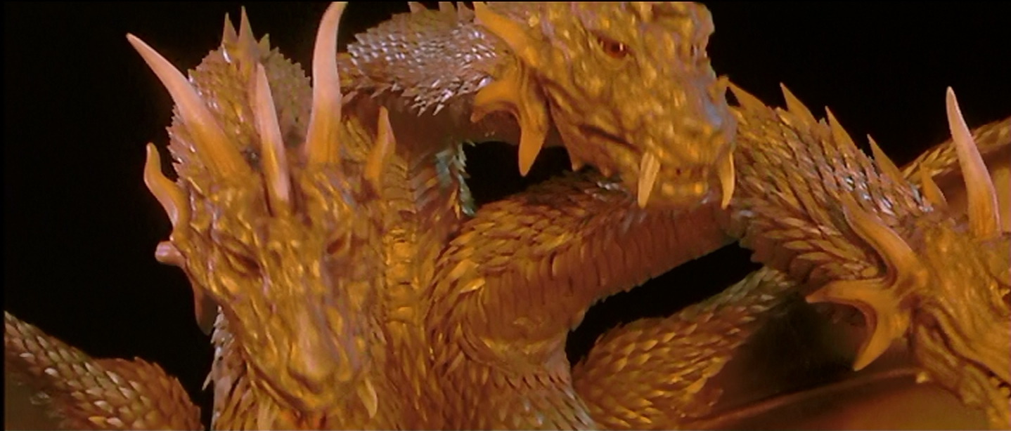 Good Guy Ghidorah feels a bit odd.