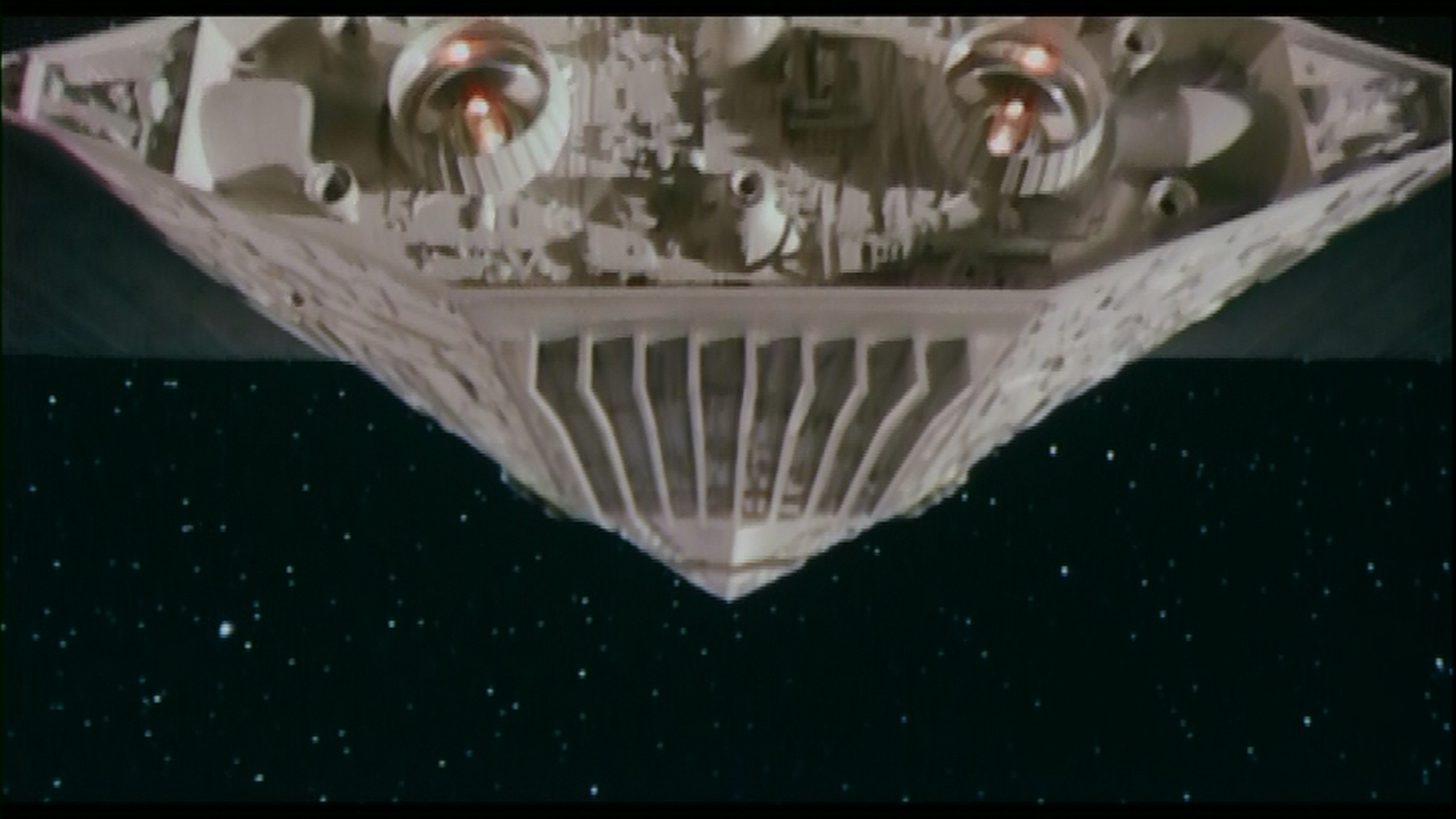 TOTALLY NOT A STAR DESTROYER!