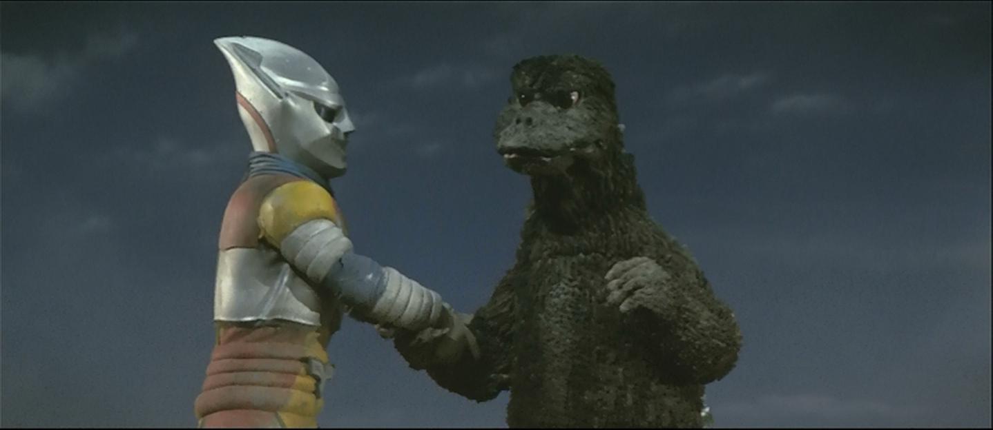 Thanks for letting me crash your franchise, Godzilla!
