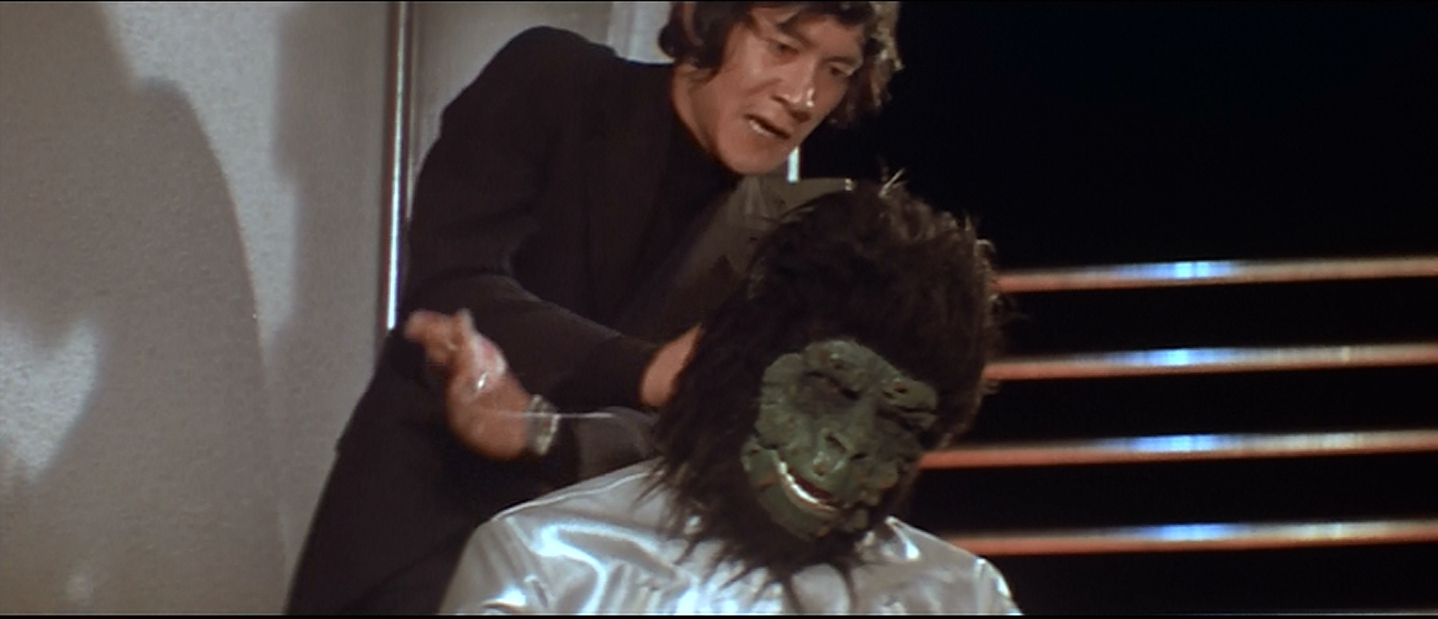 Mr. Secret Agent Strangles an... ape alien?