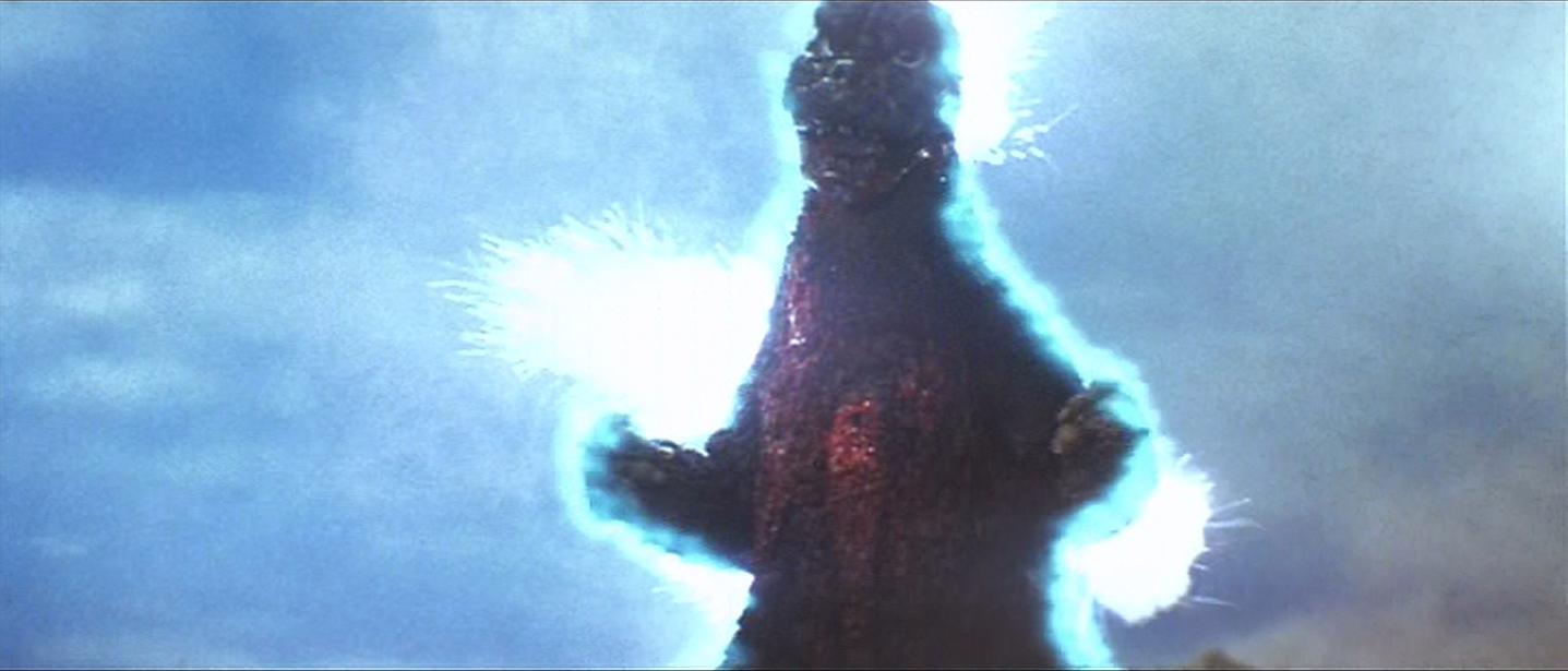 Godzilla begomes magnetic.