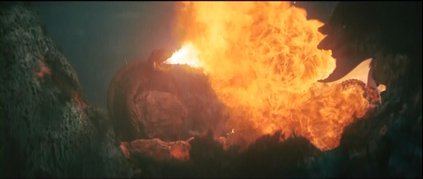Underwater flame
