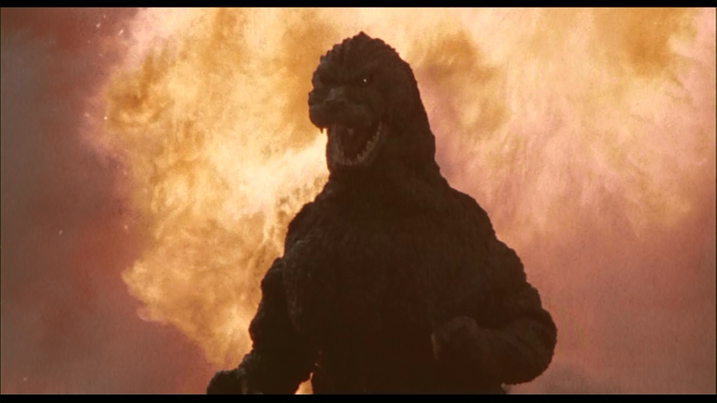 No volcano can hold Godzilla