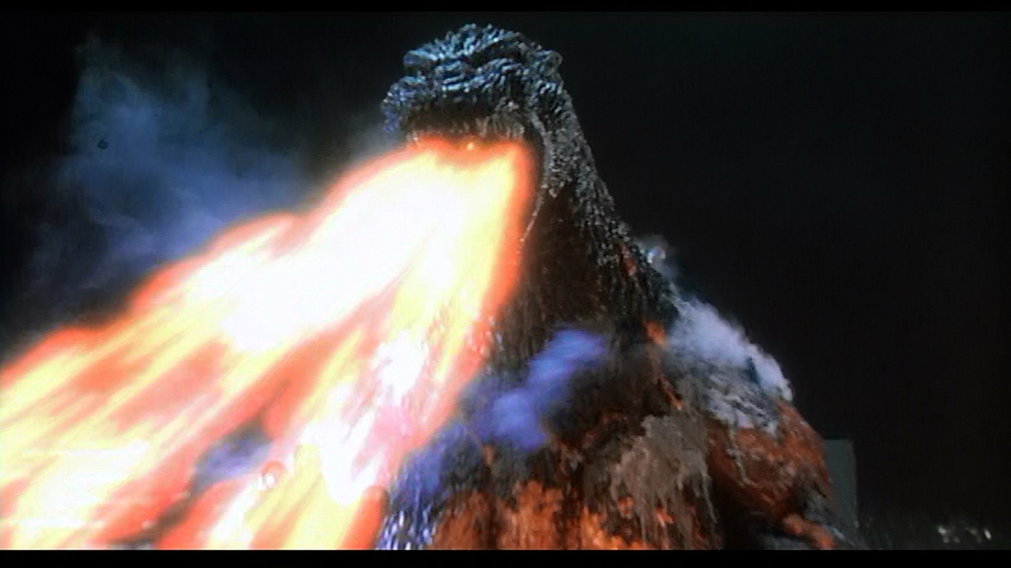 Godzilla's upgrades heat ray