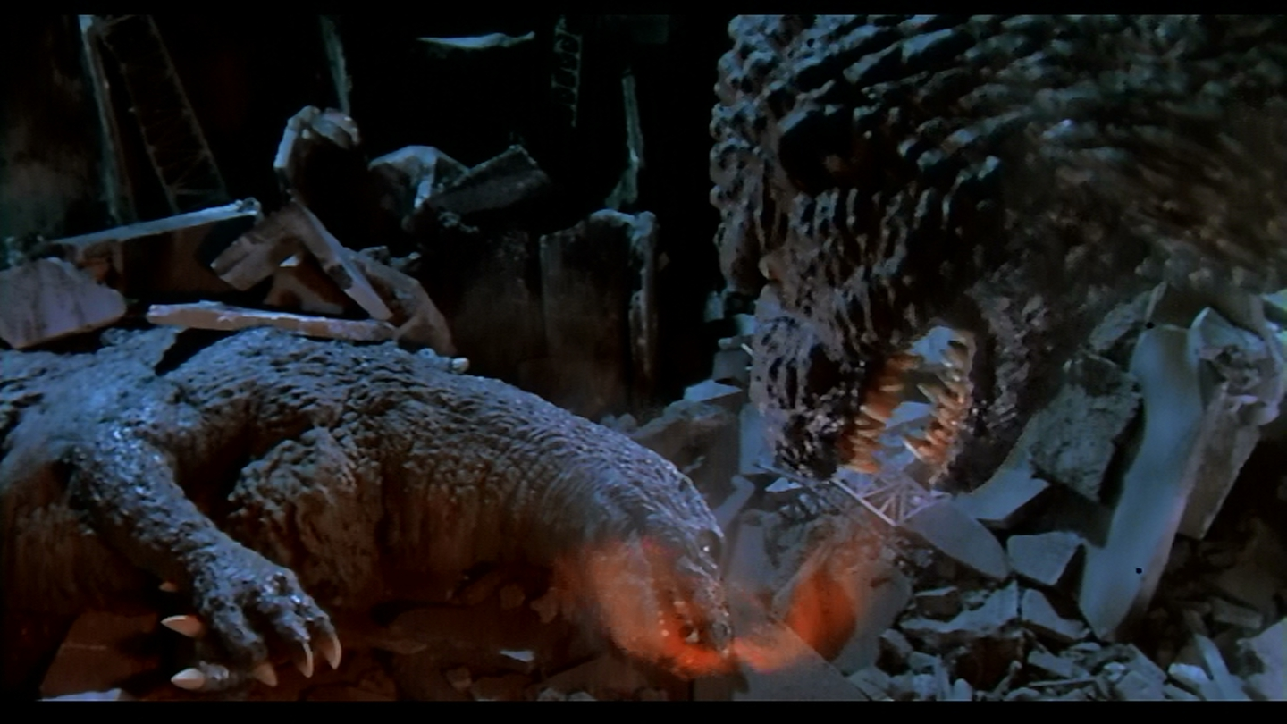 Godzilla has a tender moment. Yeah, read that again.