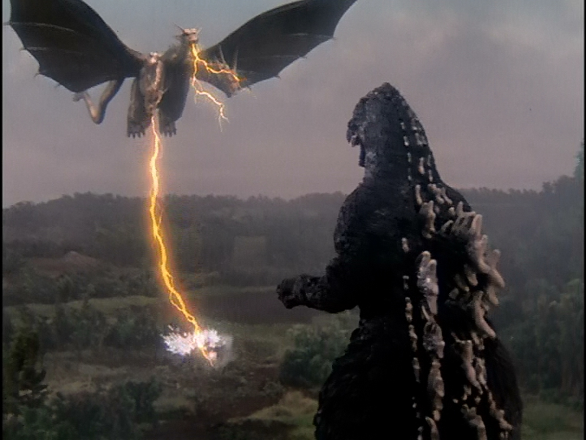 Incoming King Ghidorah