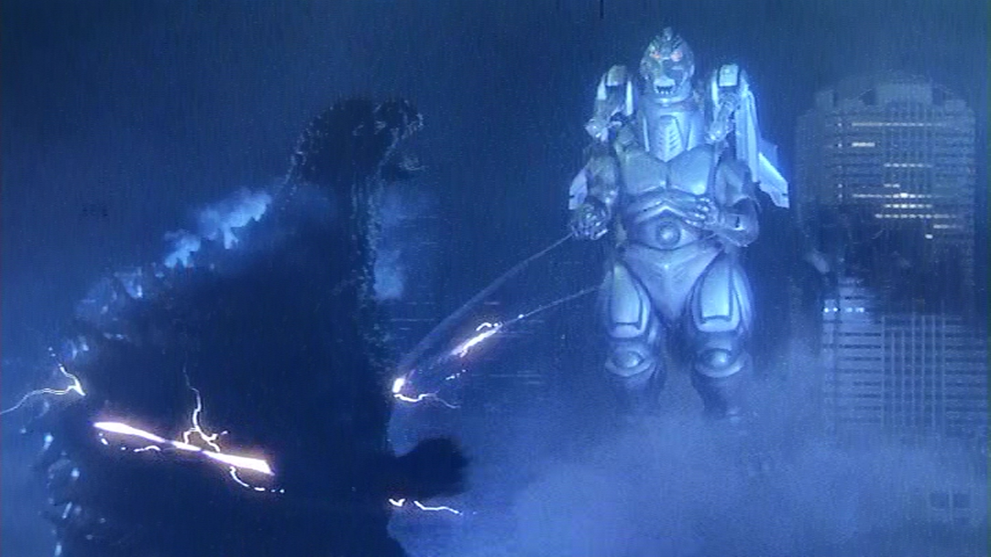 Let's really hurt Godzilla