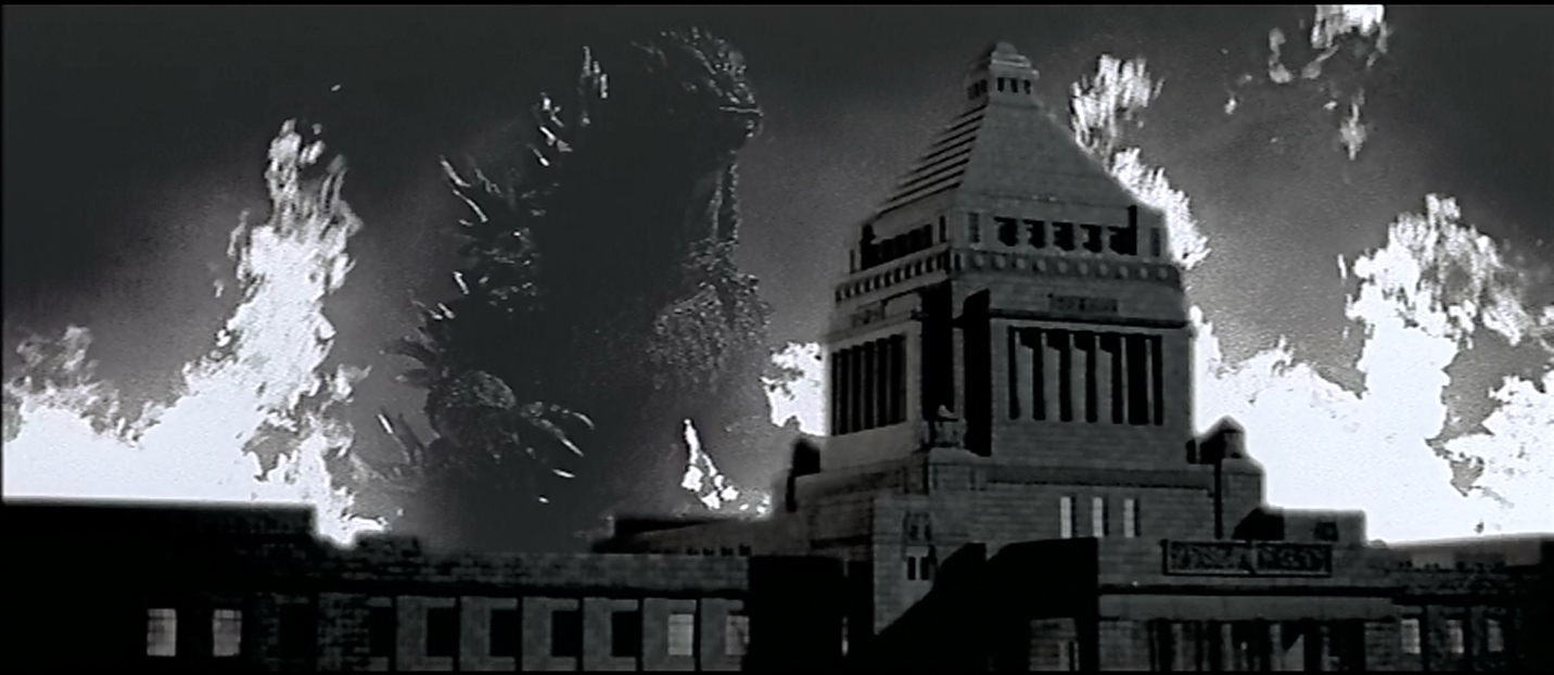 Godzilla vs Megaguirus recreates Godzilla 1954 with virtually the same technology