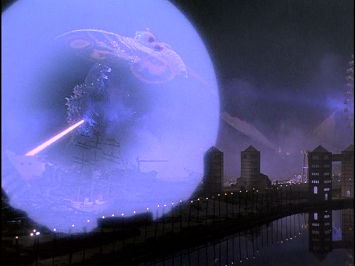 Godzilla won't have any of Mothra's lovey bullshit