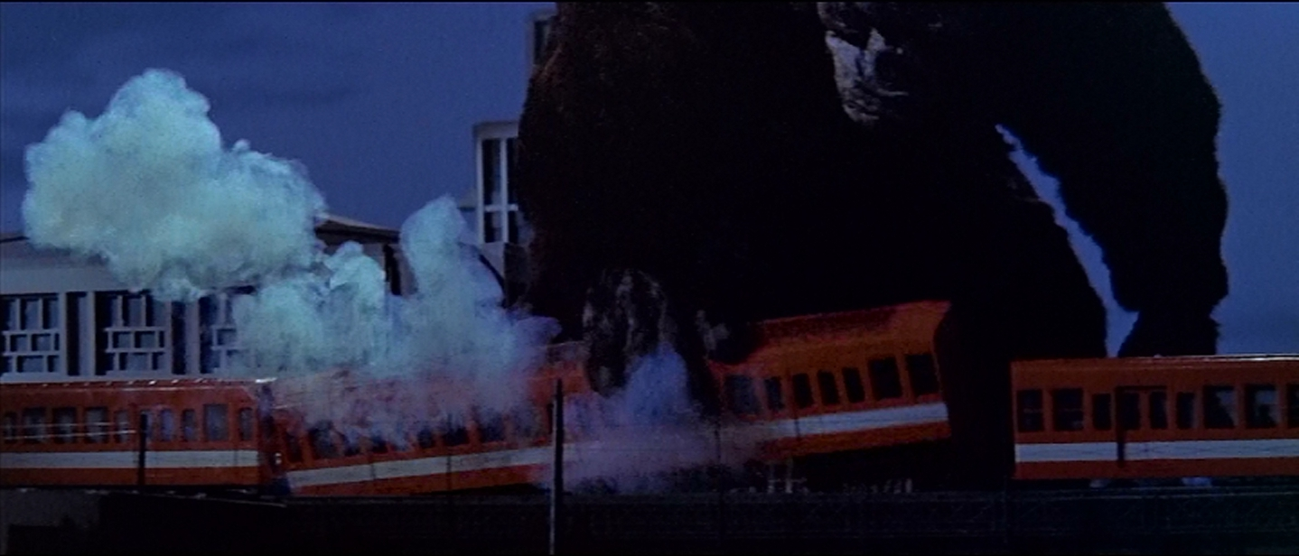 Kong will never make peace with trains.  Let's accept this and move on.