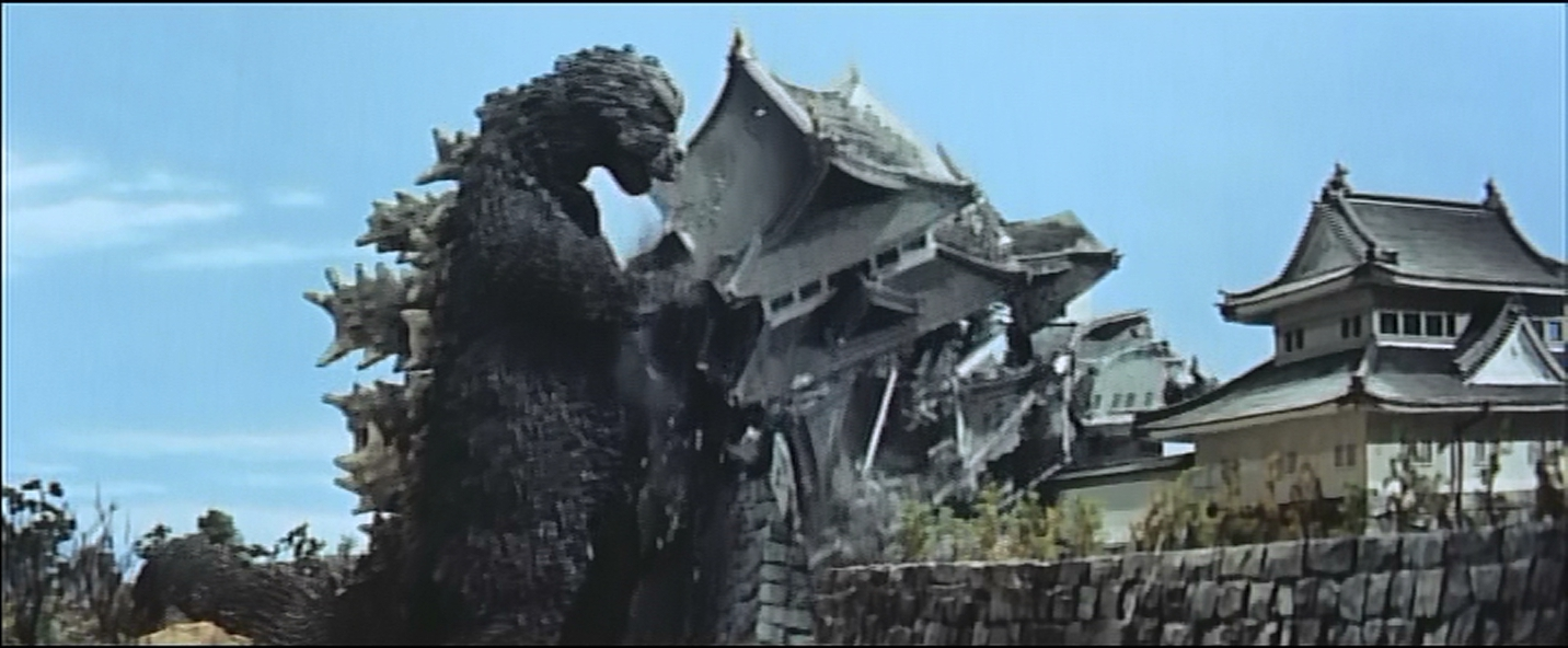 Godzilla tears down more of Japan's national heritage.