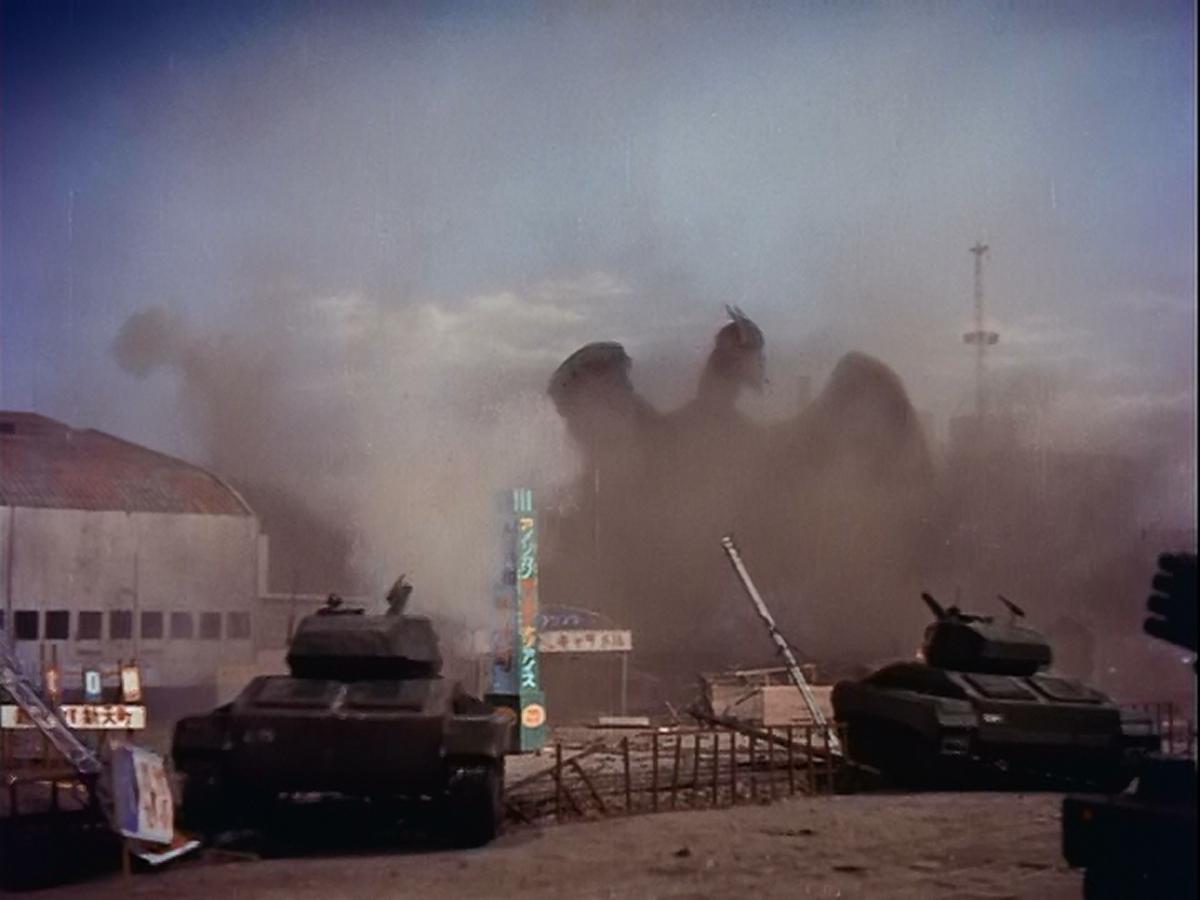 Tanks roll in.