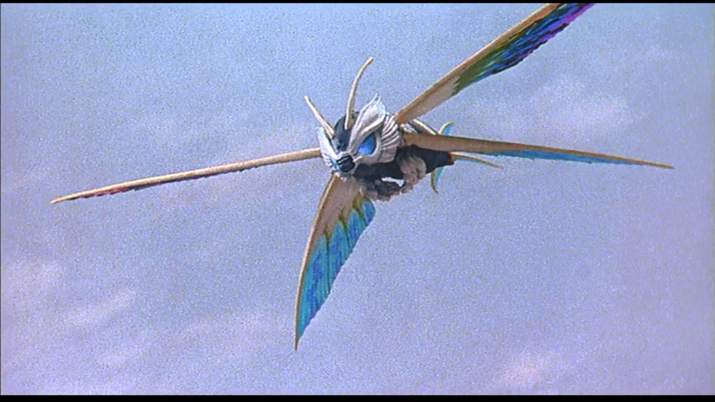 Does Mothra look like an X-wing fighter to you?