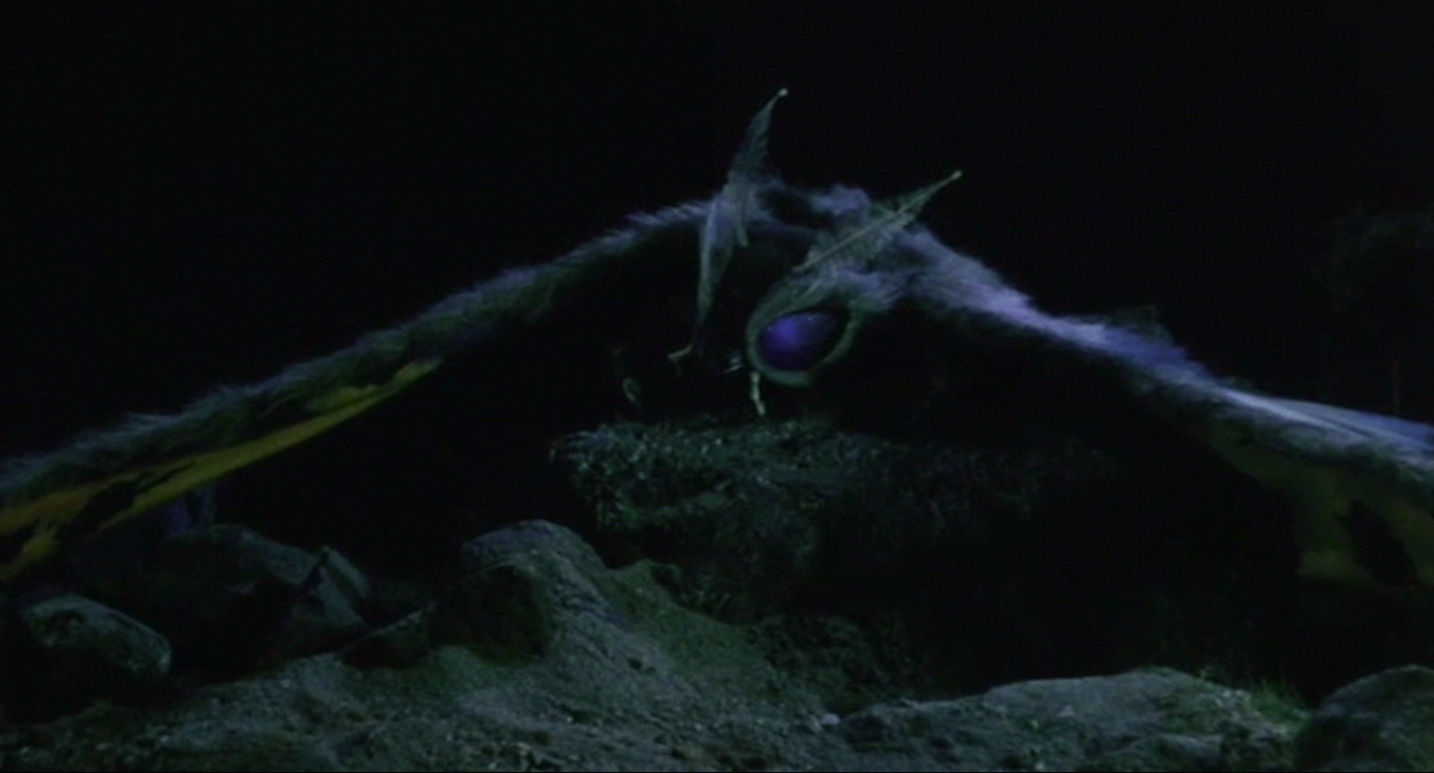 Fallen warrior Mothra.
