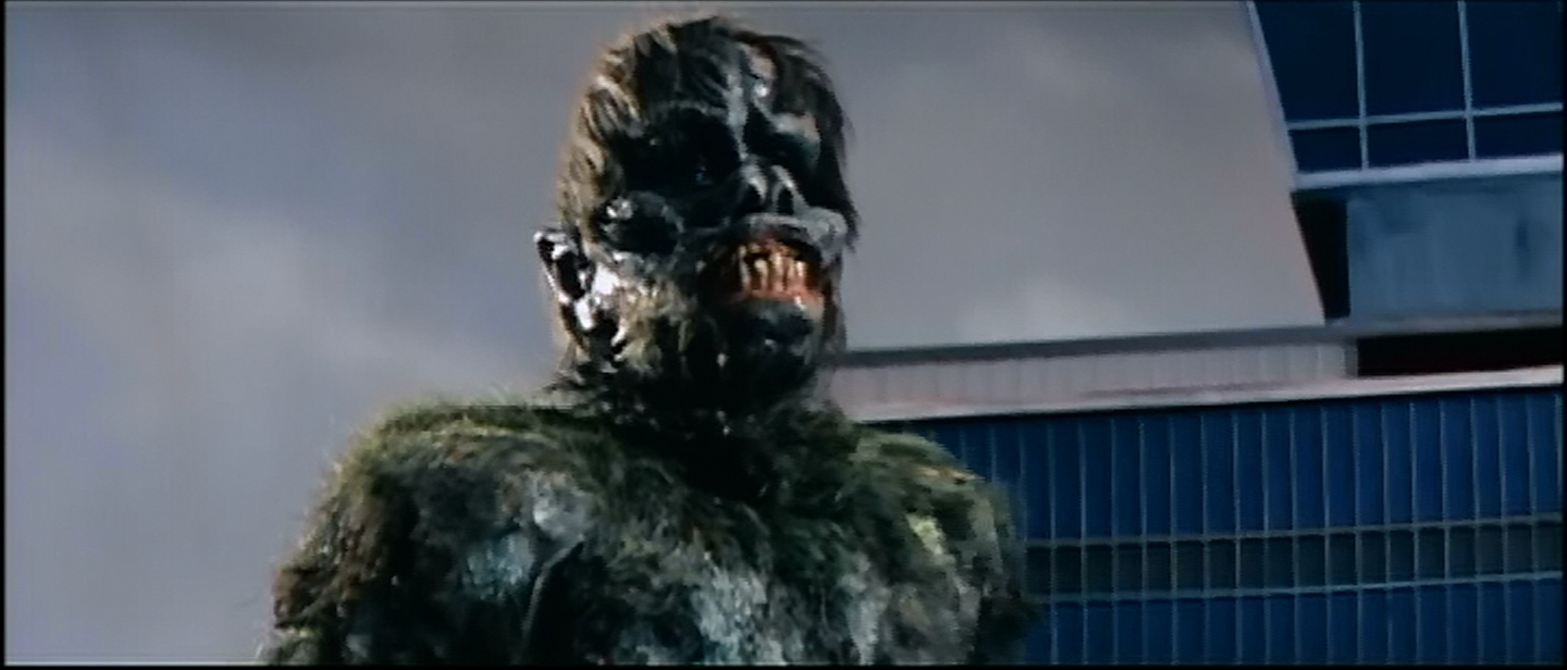 Gaira the Green Gargantua says brush your teeth or they'll turn out like this