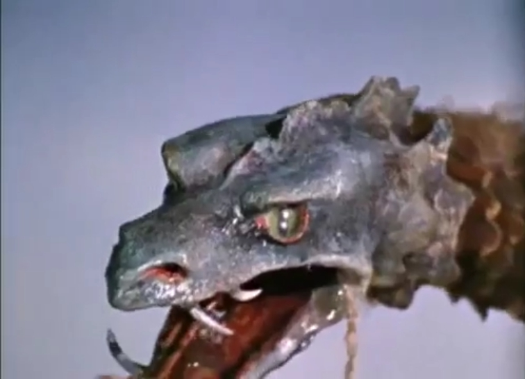 Reptilicus is watching YOU!