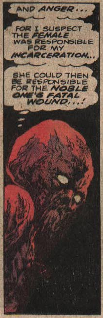 Atlas Comics' Bog Beast from Tales of Evil #2