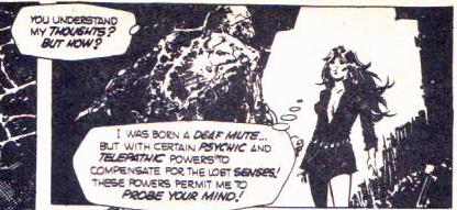 Atlas Comics' Bog Beast from Fearful Spectres #3