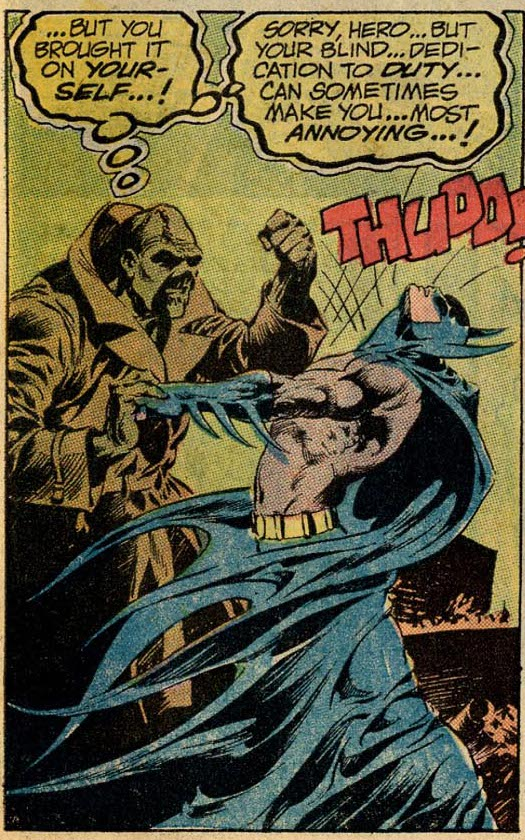 Swamp Thing #7 Swamp Thing vs the Batman, by Len Wein and Bernie Wrightson