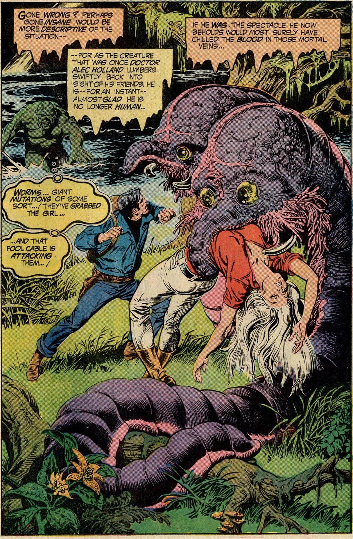 Swamp Thing #11 The Conqueror Worms, by Len Wein and Nestor Redondo