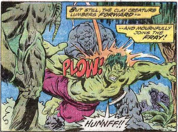 The Glob, as written by Len Wein!