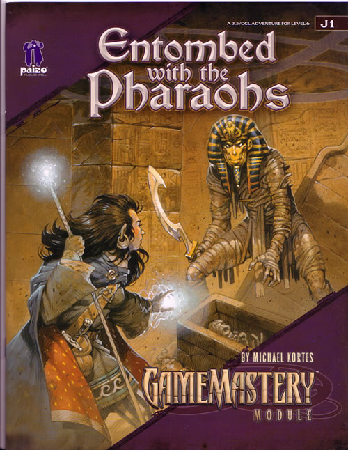 Entombed with the Pharaohs from Paizo