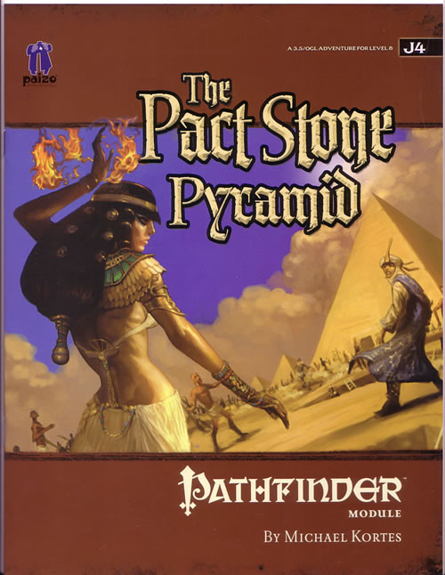 The Pact Stone Pyramid from Paizo by Michael Kortes