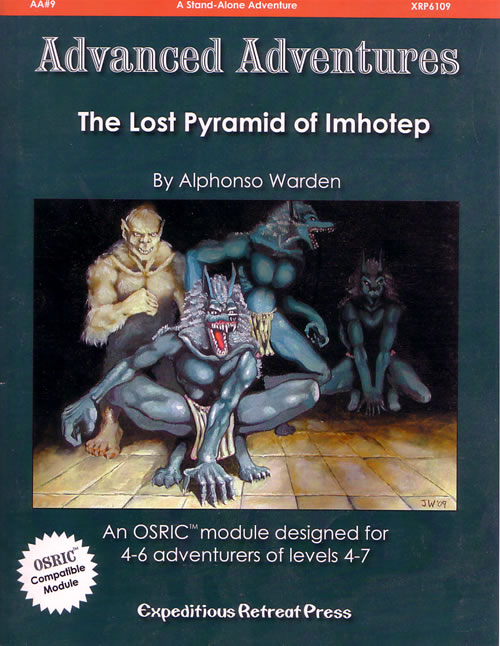 The Lost Pyramid of Imhotep, from Expeditious Retreat Press