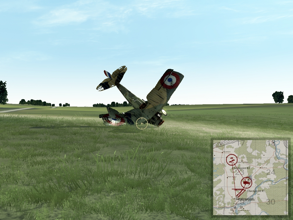 failure to pull up after strafing run