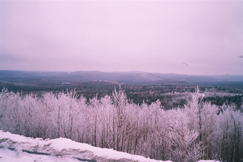 Snowy New England