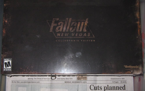 Fallout: New Vegas still sealed 11/08/2010